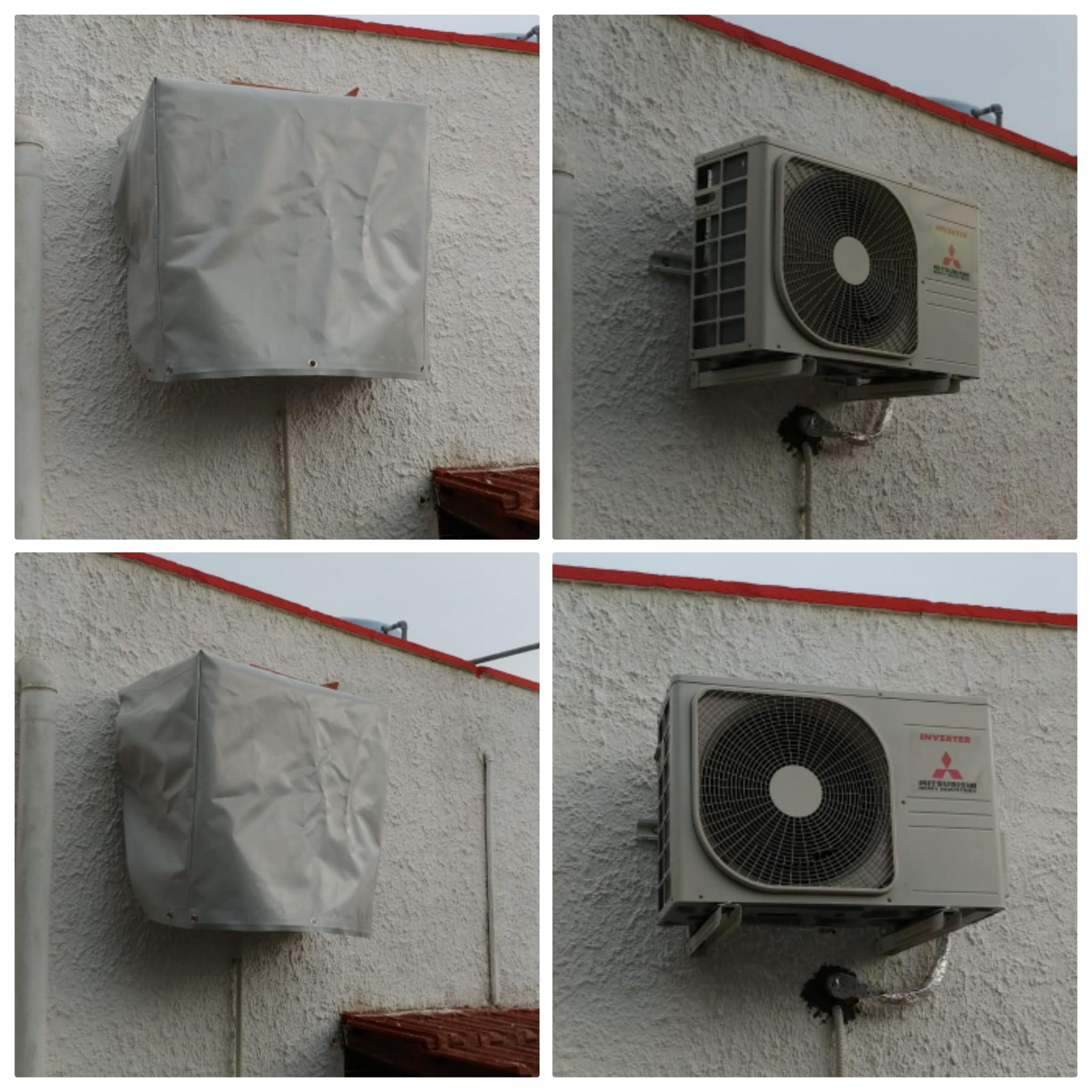cappuccio climatizzatore