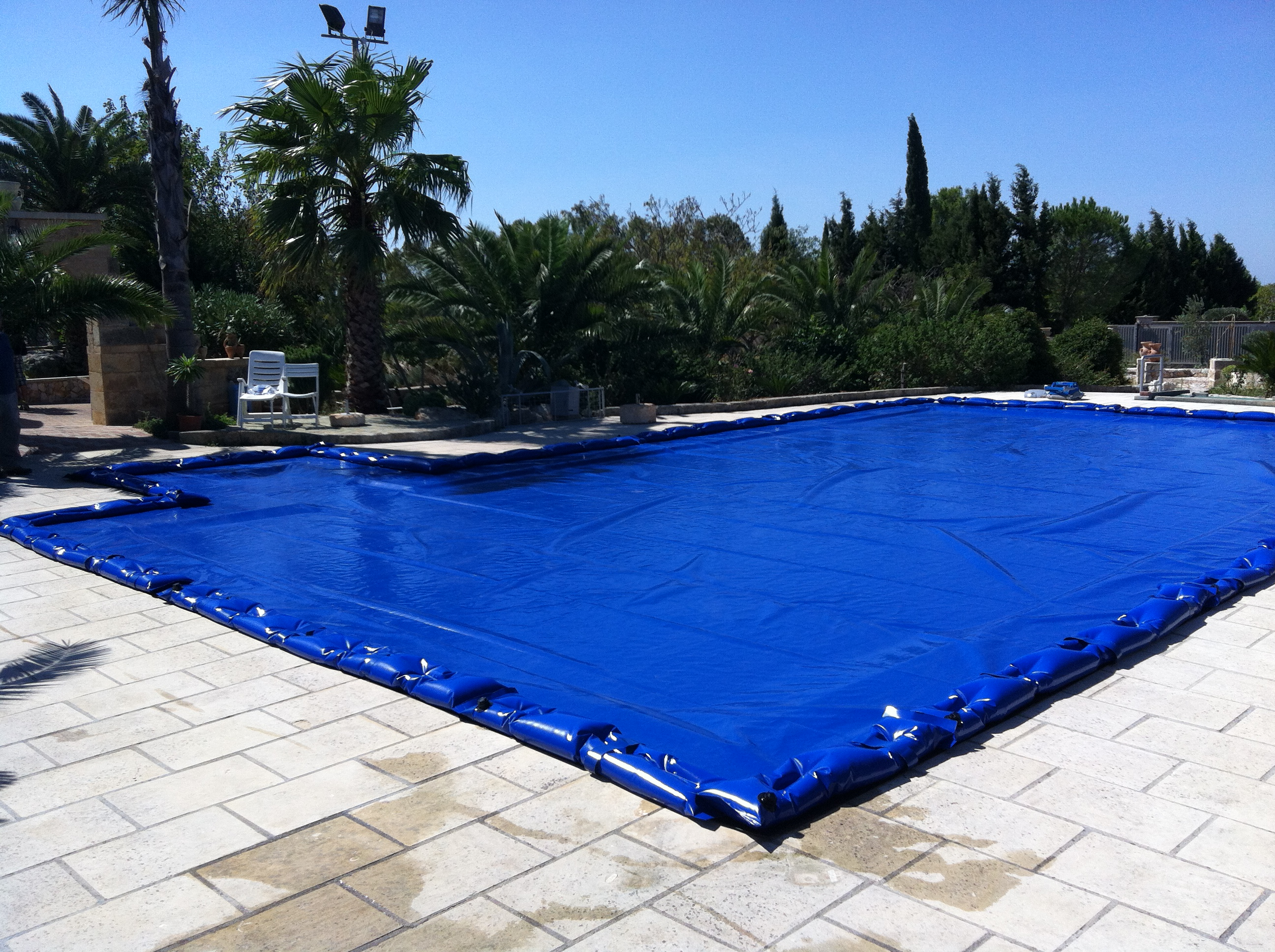 telo copertura piscina