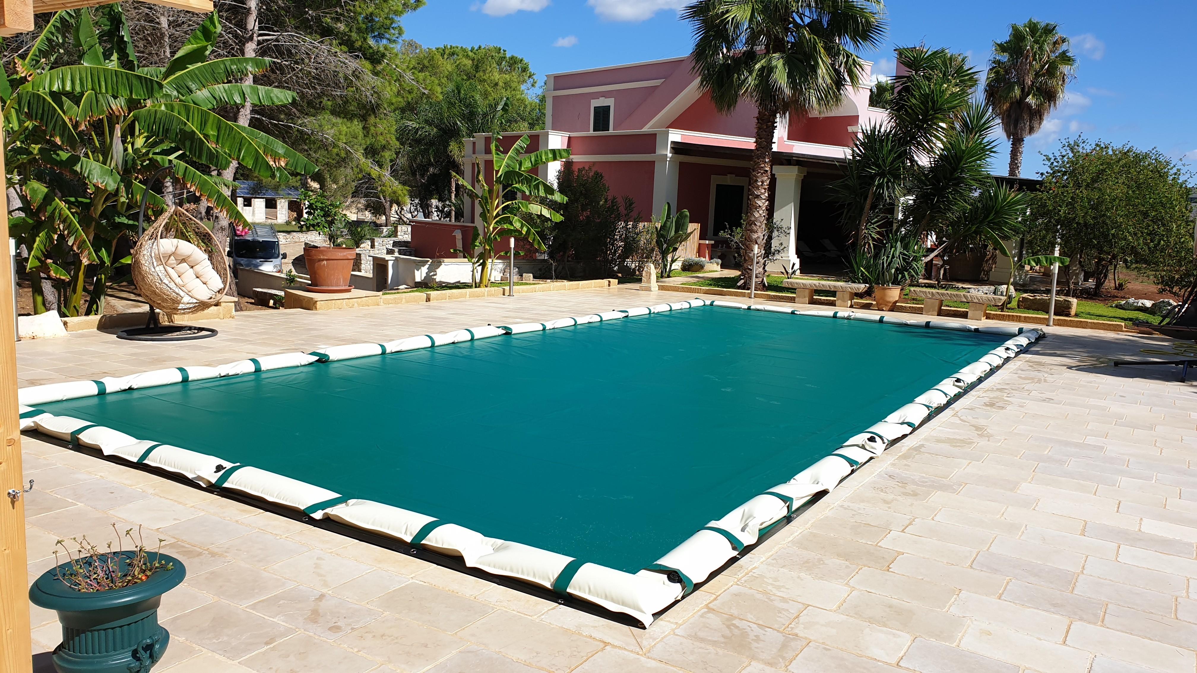 Telo copertura invernale per piscina